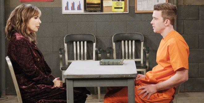 kate visits will in jail on days of our lives