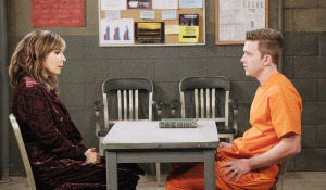Kate visits will prison days of our lives