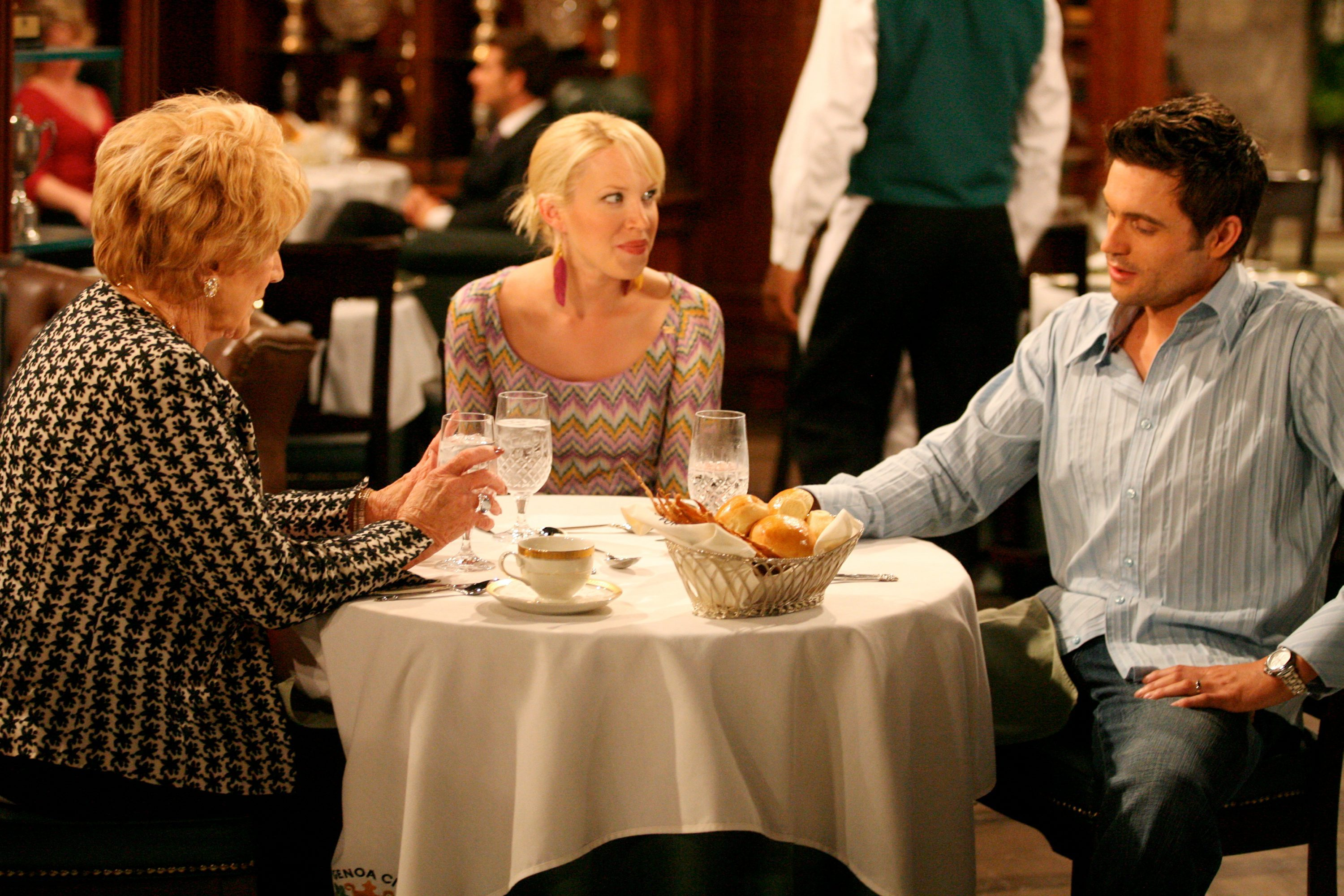 "Jeanne Cooper, Adrienne Frantz, Daniel Goddard""The Young and the Restless"" SetCBS Television CityLos Angeles3/14/07©Aaron Montgomery/jpistudios.com310-657-9661Episode #8624"