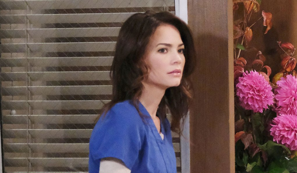 liz is surprised on general hospital