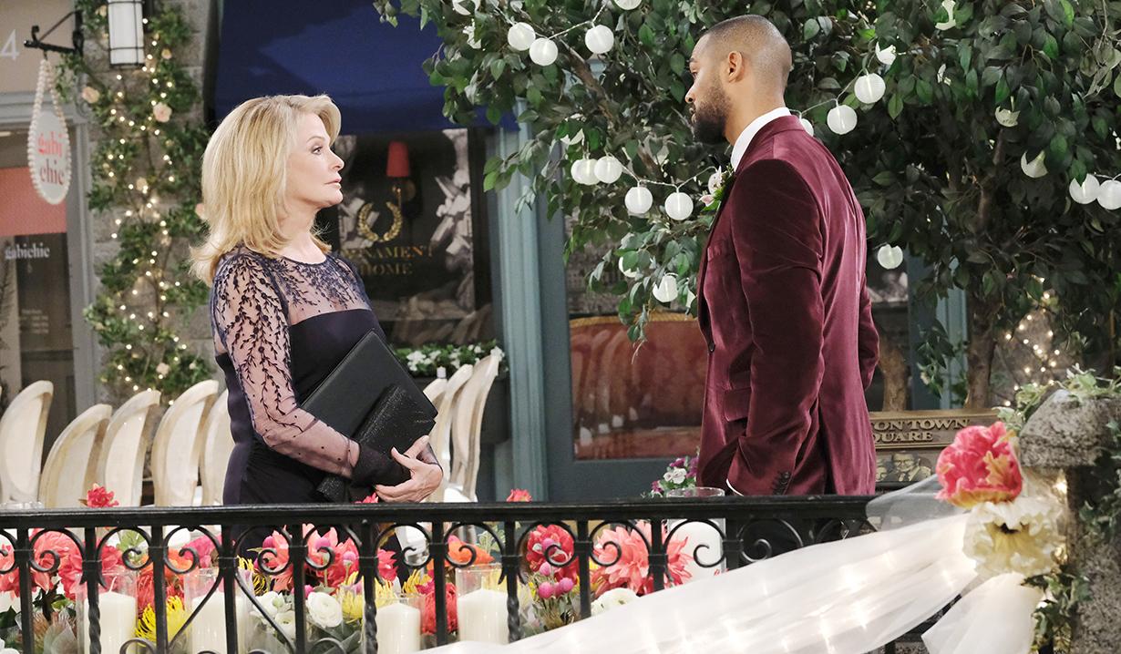 Marlena meets with Eli pre-wedding