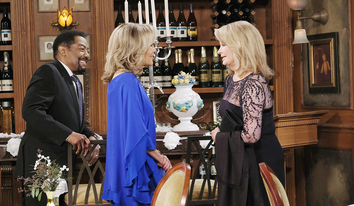 Tamara catches up with Abe and Marlena