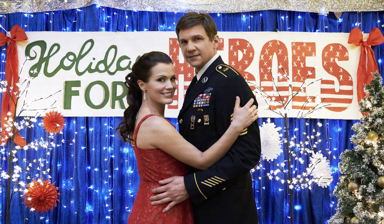 young and restless melissa claifre egan hallmark holiday for heroes
