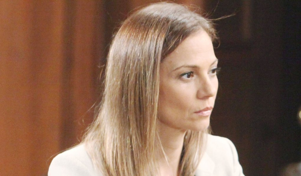 monica is kind to kim on general hospital