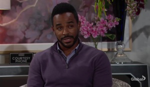 Nate offers to help Amanda Young and the Restless