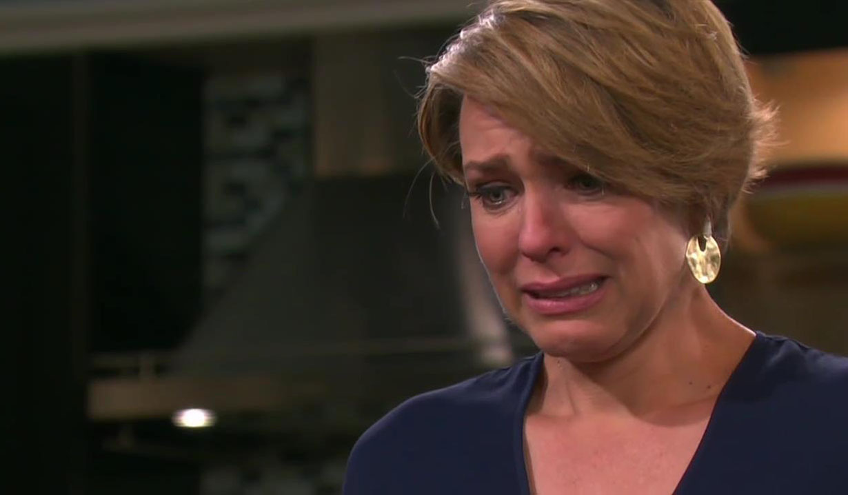 nicole cries at proposal days of our lives