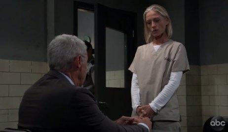 Robert offers Cassandra a deal on General Hospital