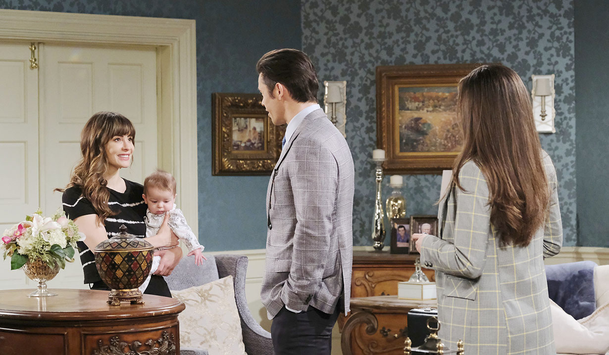 sarah happy with xander and ciara days of our lives