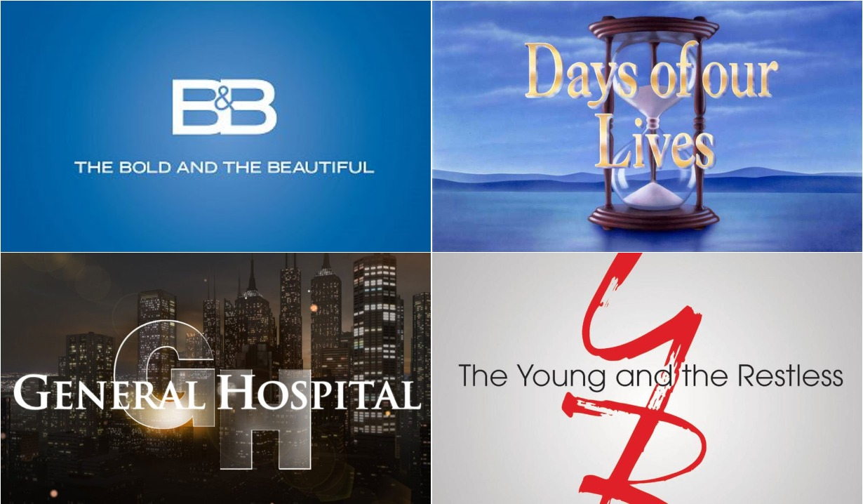 bold and beautiful days of our lives general hospital young and restless