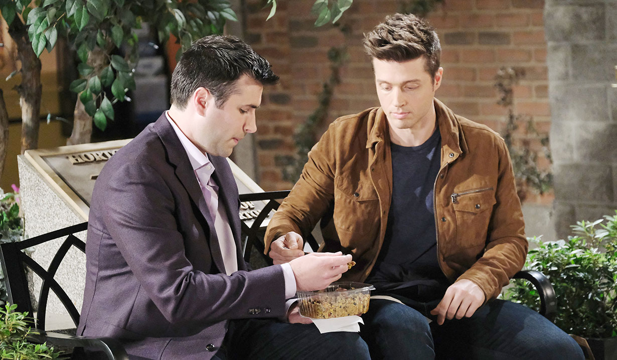 sonny opens up to evan days of our lives