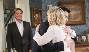 sonny hugs kayla mansion days of our lives