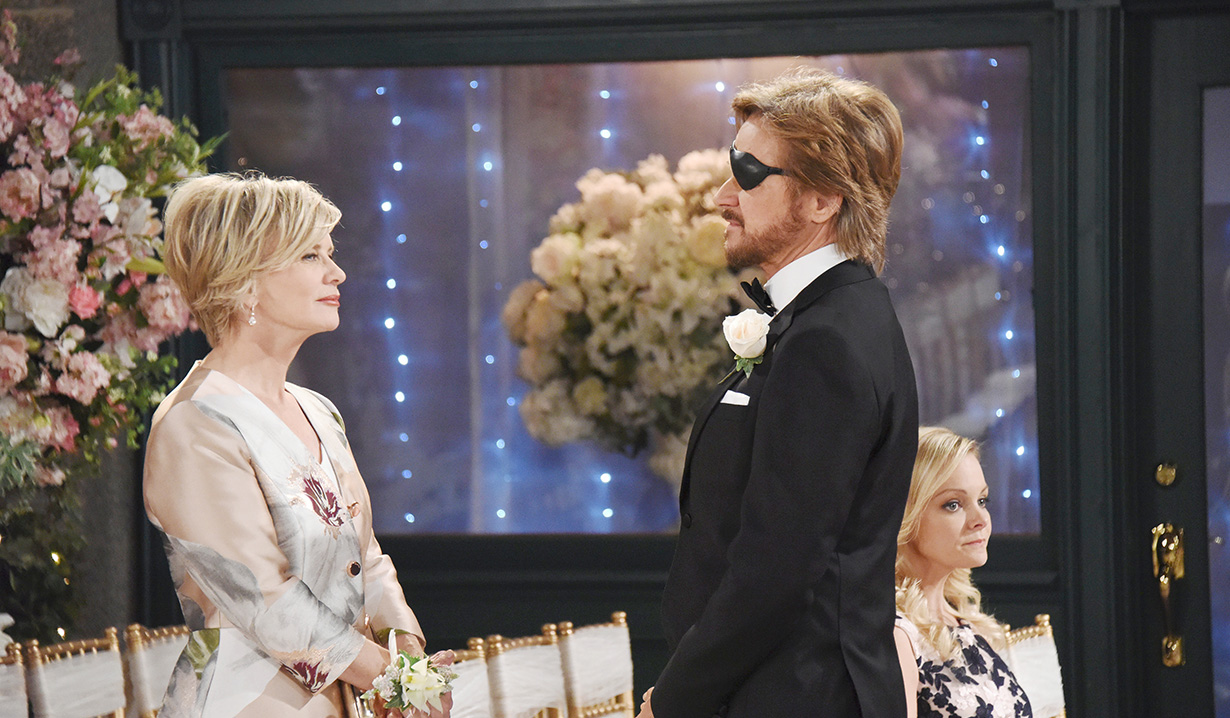 Steve and Kayla at wedding Days of our Lives