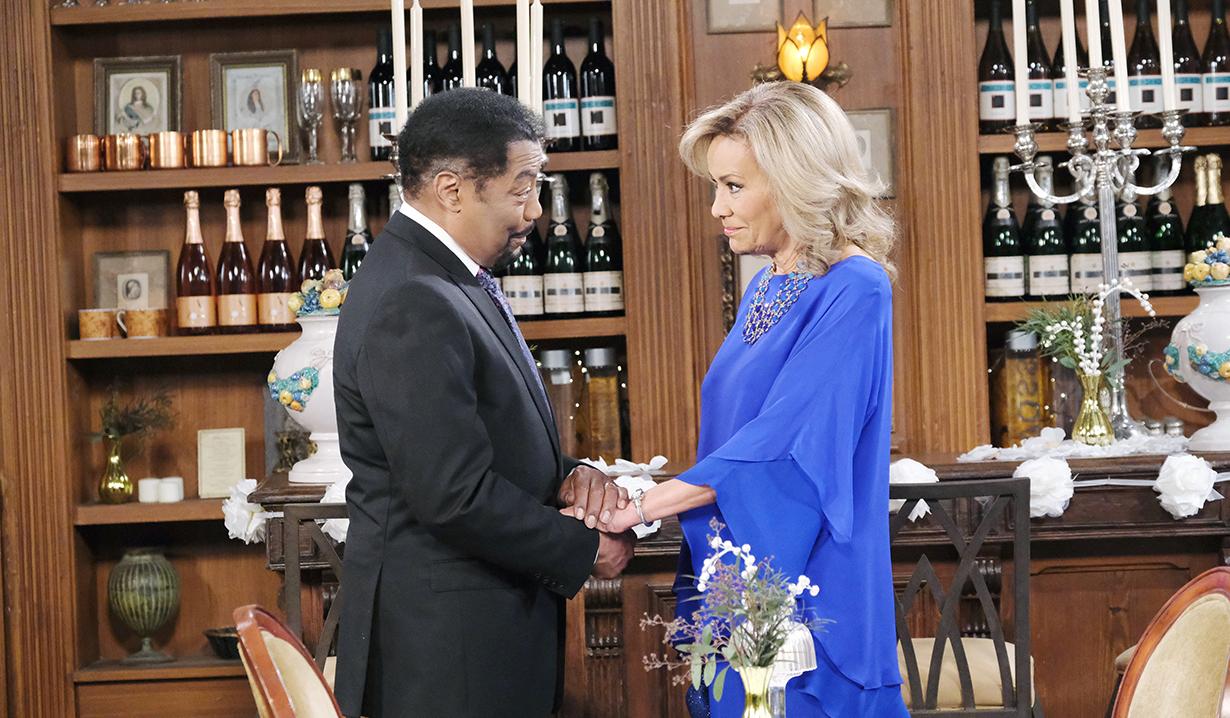 Abe and Tamara reunite