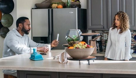 Titus confronts Amara with pregnancy test on Ambitions