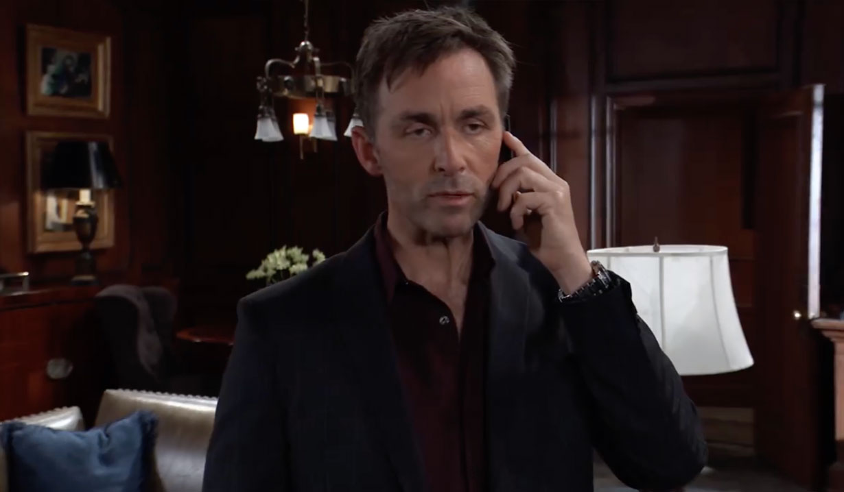 Valentin gives orders on General Hospital