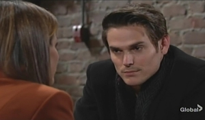 Adam talks to Chelsea about darkness Young and Restless