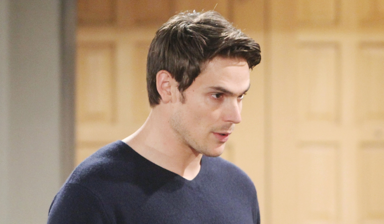 Adam makes a proposal Young and Restless