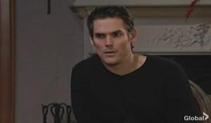 Adam talks to Nikki Young and Restless