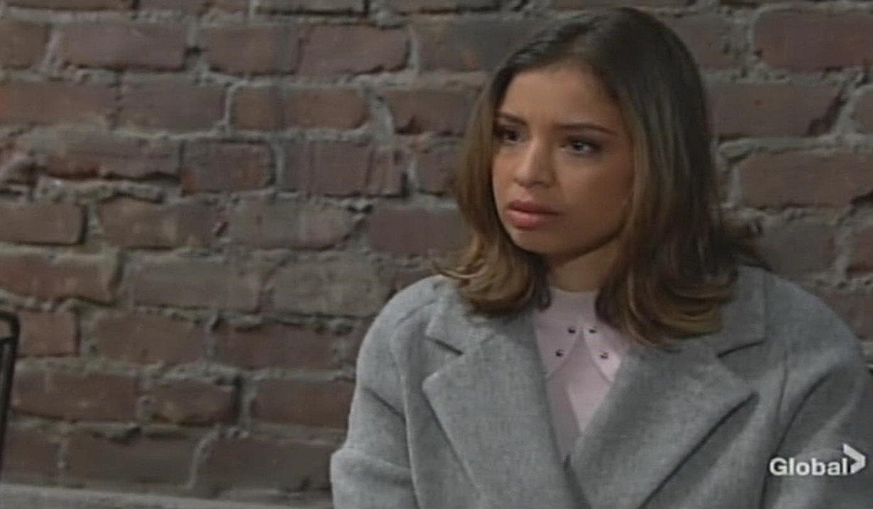 Elena confronts Devon Young and Restless