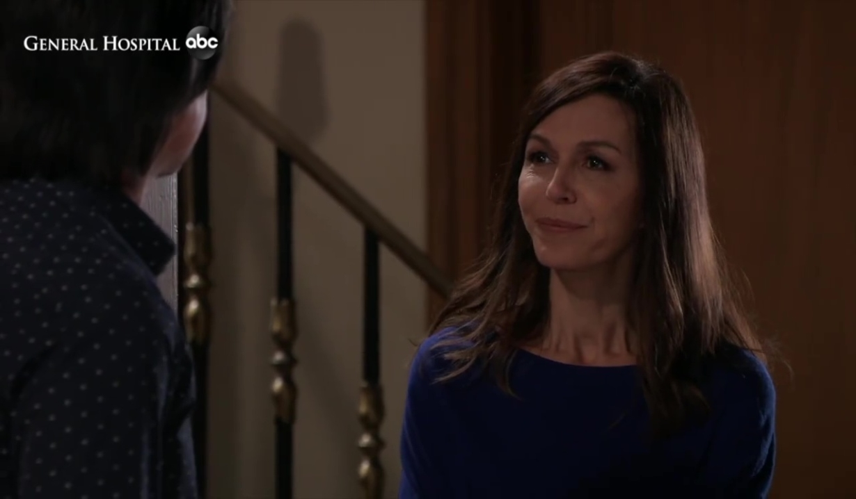 Anna and Finn discuss Violet and Christmas at home General Hospital