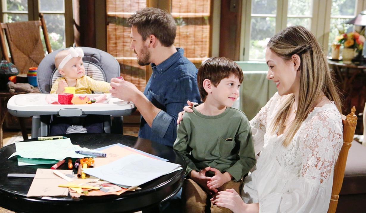 Beth, Liam and Douglas