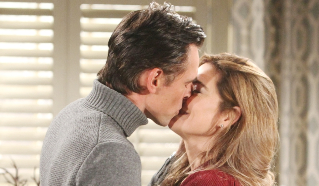 Billy Victoria kiss young and Restless