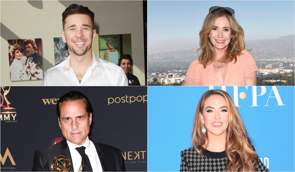 Billy Flynn Maurice Benard Chrishell Stause Hartley Ashley Jones soaps news days off our lives general hospital the young and the restless the bold and beautiful