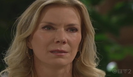 Brooke sad divorce Bold and Beautiful