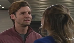 Chance busts Abby Young and Restless