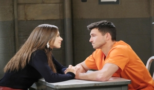 Ciara visits Ben in prison Days of our Lives