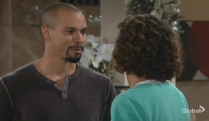 Devon admires Elena Young and Restless