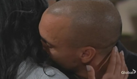 Devon dreams of kissing Hilary Young and Restless