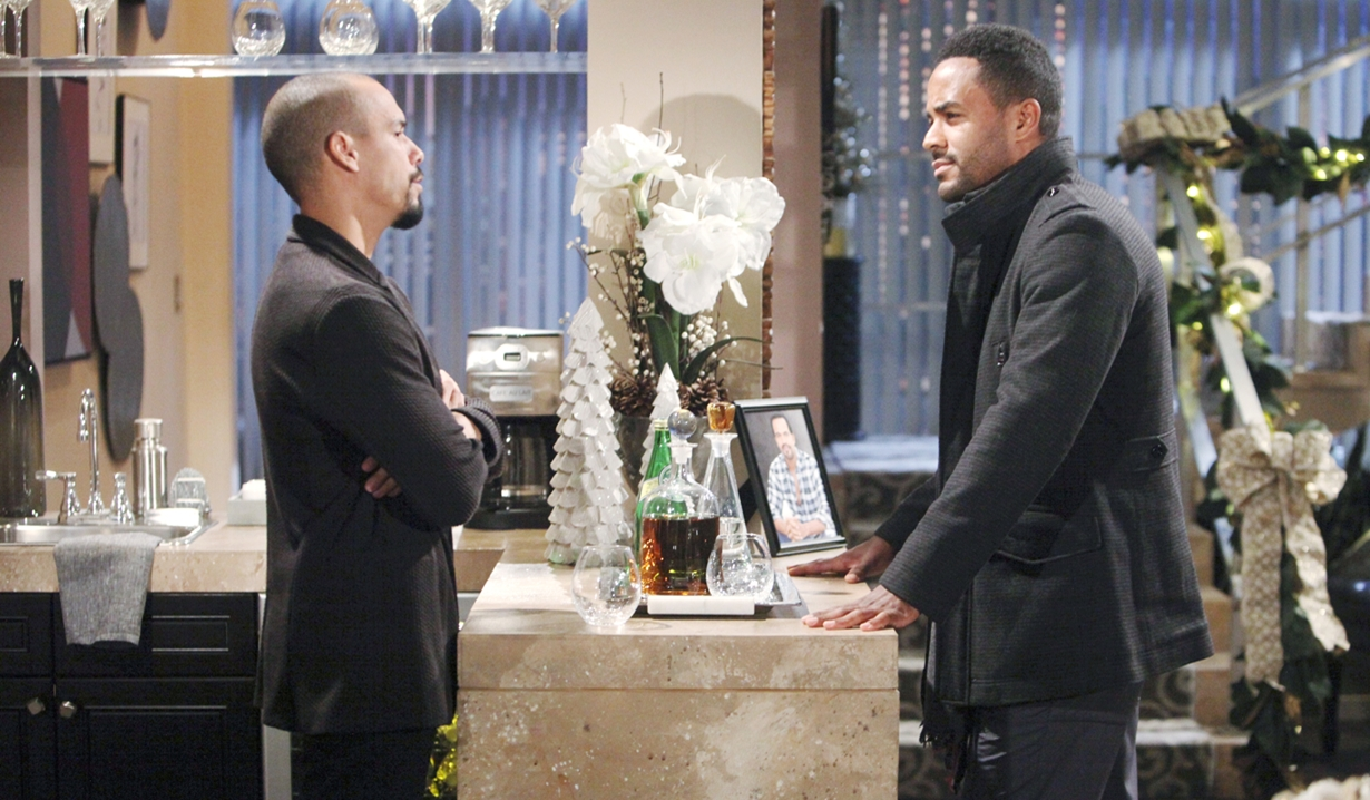 Nate questions Devon Young and Restless