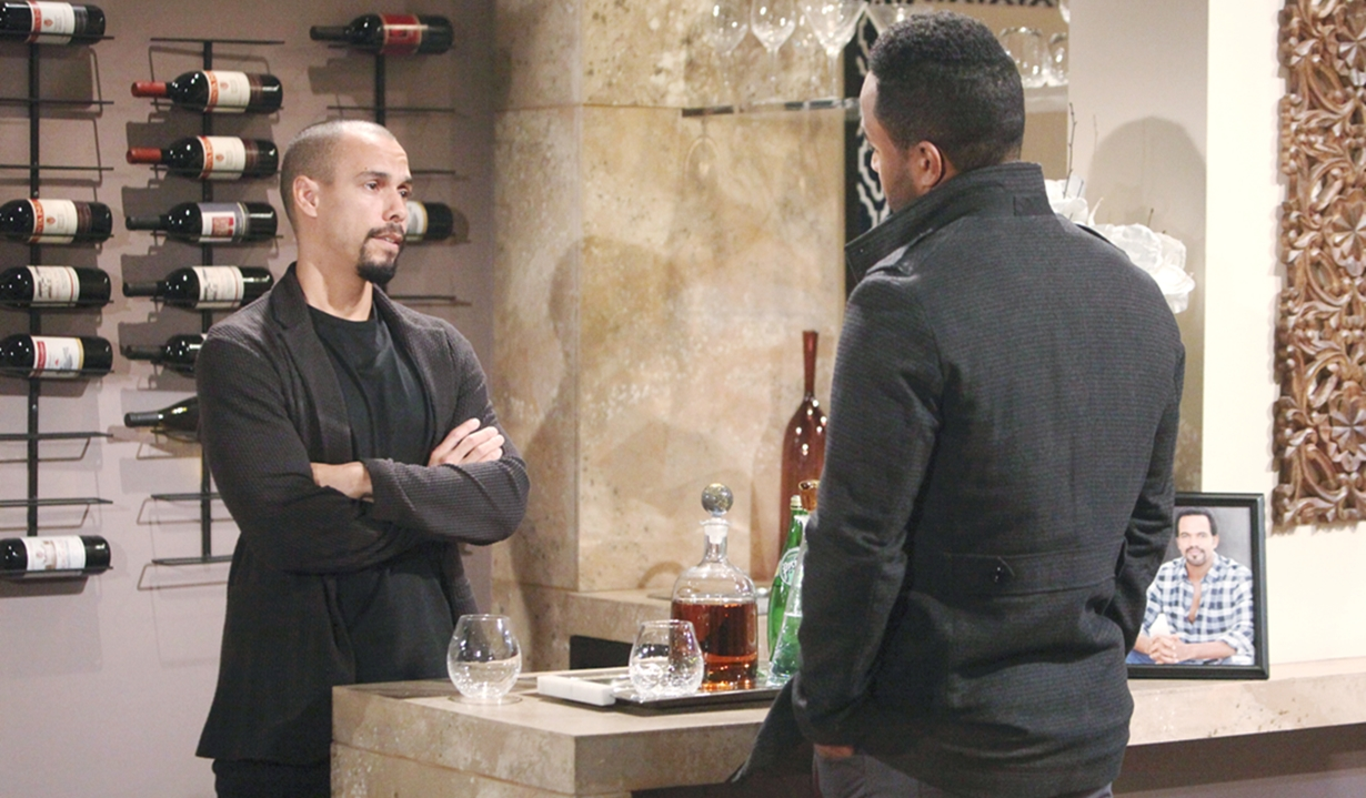 Devon resists Nate Young and Restless