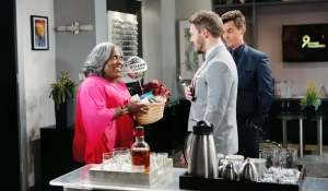 Emmy welcomes Liam back with Wyatt Bold and Beautiful