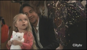 Finn Violet and Anna celebrate Thanksgiving General Hospital