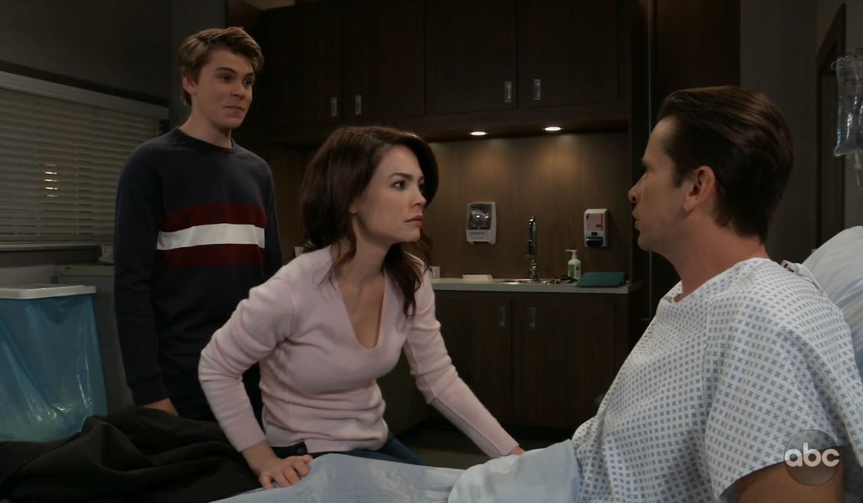 Franco wakes up and remembers on General Hospital