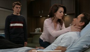 Franco wakes up to Cam and Liz on General Hospital