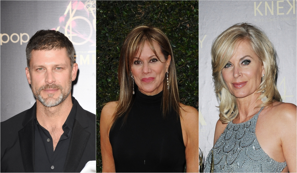 Greg Vaughan Nancy Lee Grahn Eileen Davidson soaps news days off our lives general hospital the young and the restless the bold and beautiful