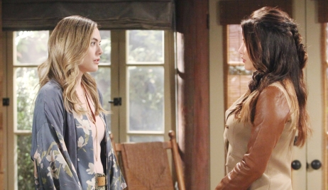 Hope and Steffy face off Bold and Beautiful