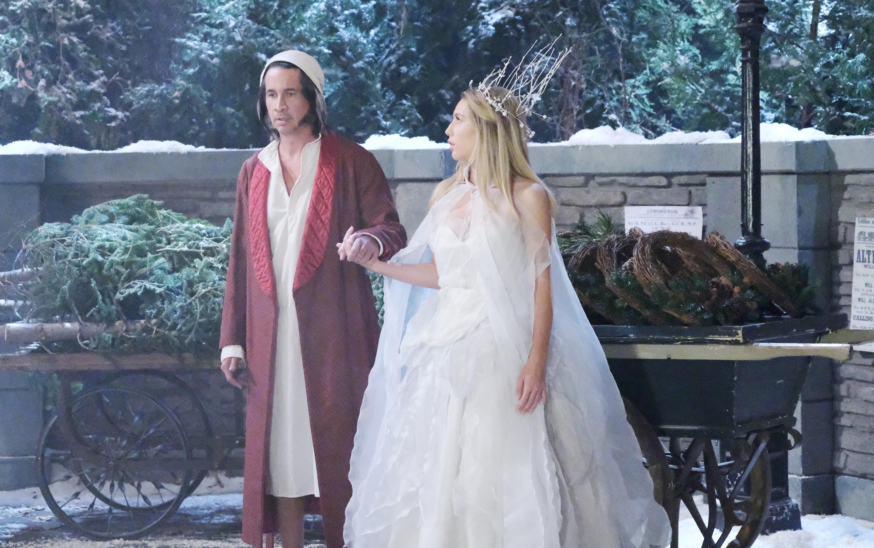 Michael Easton, Eden McCoy General Hospital Ebenezer Scrooge A Christmas Carol episode
