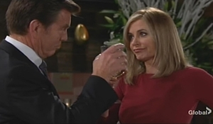 Jack and Ashley toast Young and Restless