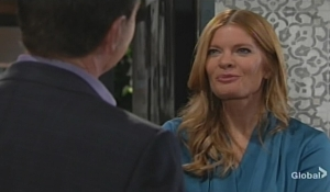 Jack Phyllis New Year's meeting Young and Restless