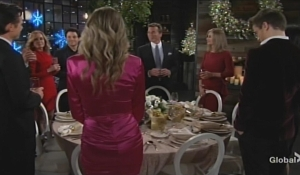 Jack toasts the family Young and Restless