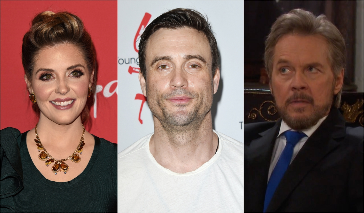 Jen Lilley Daniel Goddard Stefano soaps news days off our lives general hospital the young and the restless the bold and beautiful