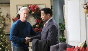 John shakes Abe's hand Days of our Lives