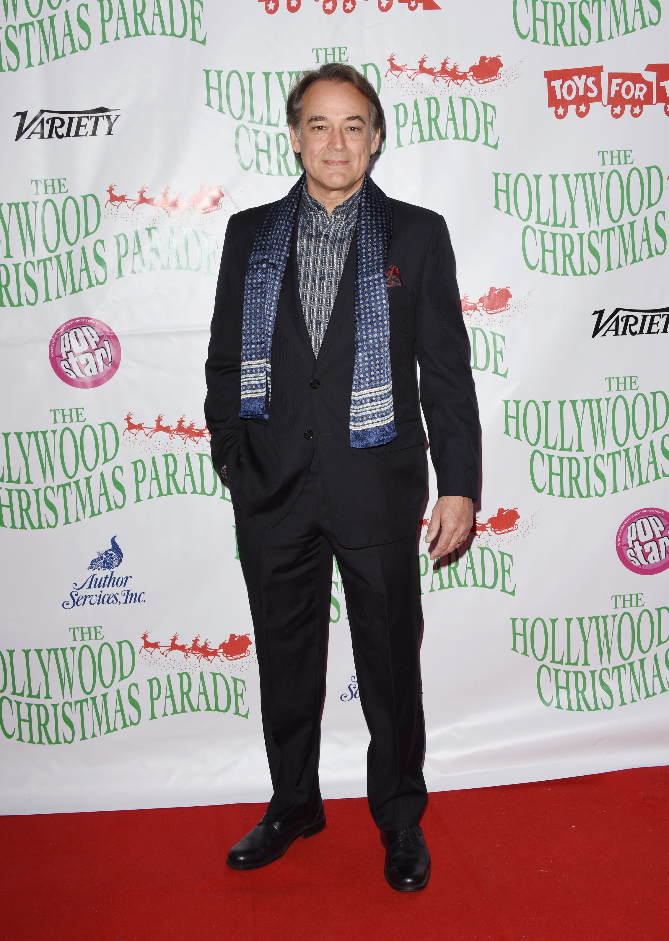 Jon Lindstrom attends the 88th annual Hollywood Christmas Parade