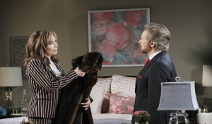 """Kate and """"Stefano"""" talk Days of our Lives"""