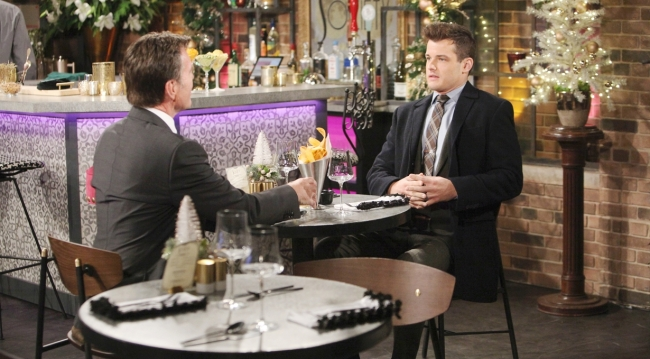 Kyle pitches Jack Young and Restless