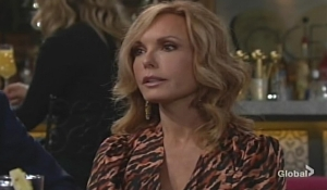 Lauren exasperated Young and Restless
